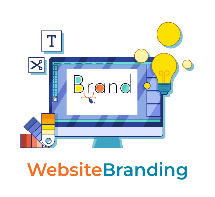 Website Branding graphic