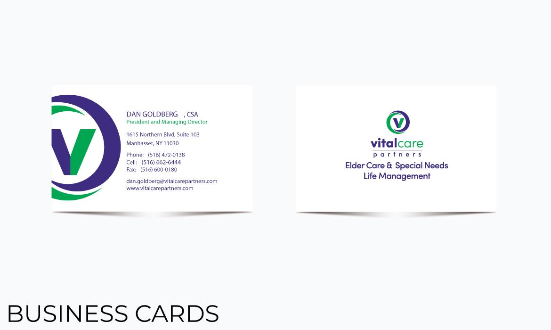 Gazelle Strategic Partners business card design