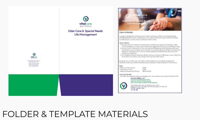 Gazelle Strategic Partners folder design